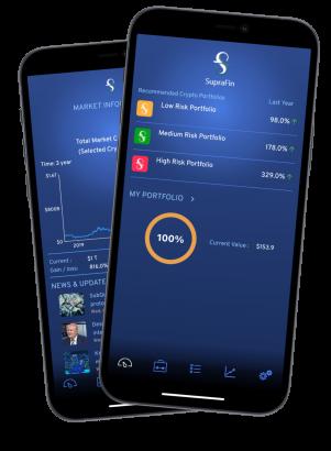 The SupraFin app